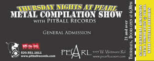 Metal Nite at Pearl Nightclub
